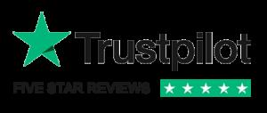 Trustpilot five star reviews