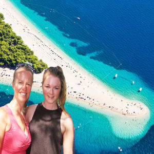 Croatia island adventure holiday, suitable for families with teenagers