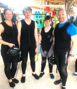 Fitness for family active vacations