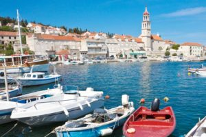 Family active holiday on Brac island, close to Split