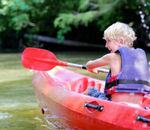 Canoe safari Croatia