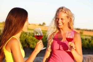 Wine tasting in Slovenia as part of adventure holidays for families
