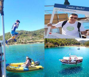 Boat tour Croatia