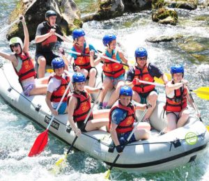 white water rafting croatia tours