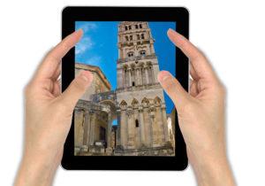 iPad photo taking in Split