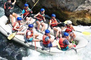 Slovenia multi activity holidays and rafting