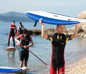 SUP boarding tours Croatia