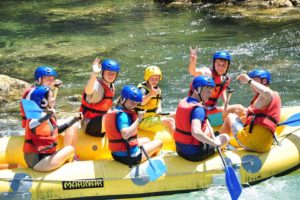 Water sport vacations for family active weeks in Europe
