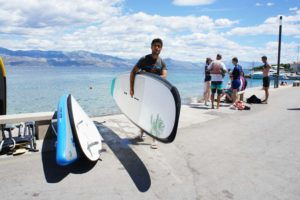Watersports weeks designed for families in Europe