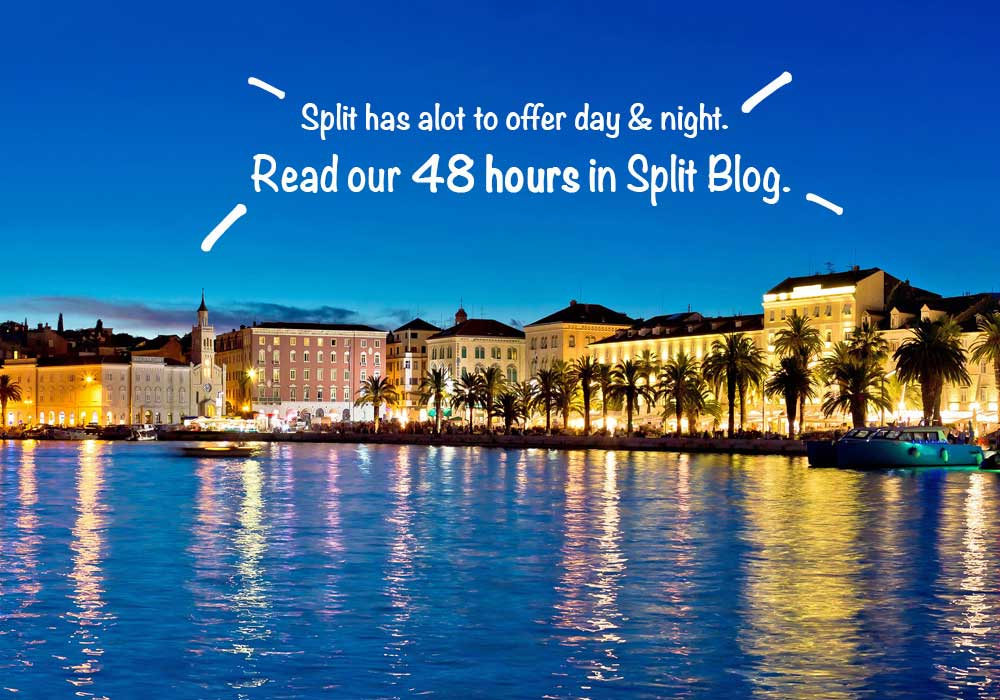 48 hour guide to Split. For family adventure weeks in Split
