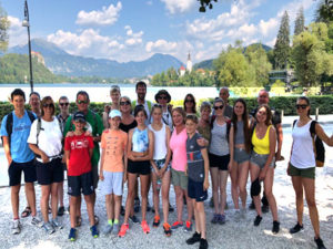 Family active holiday in slovenia