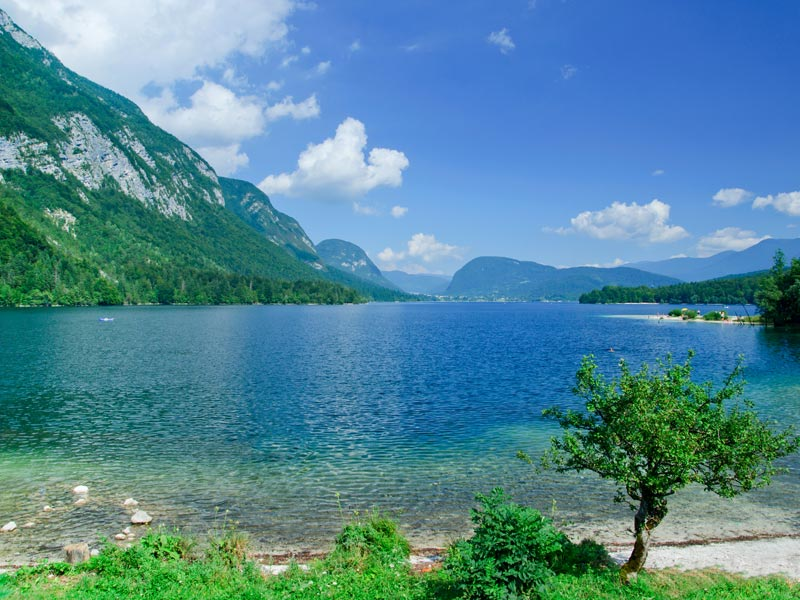 Lake Bohinj for family active holidays