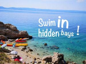 sea kayaks Adria sea