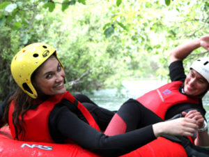 River Tubing in Croatia