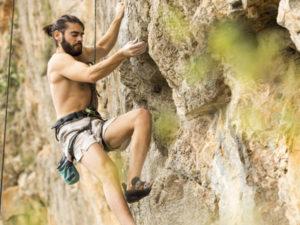 Rock climbing tours on Brac island