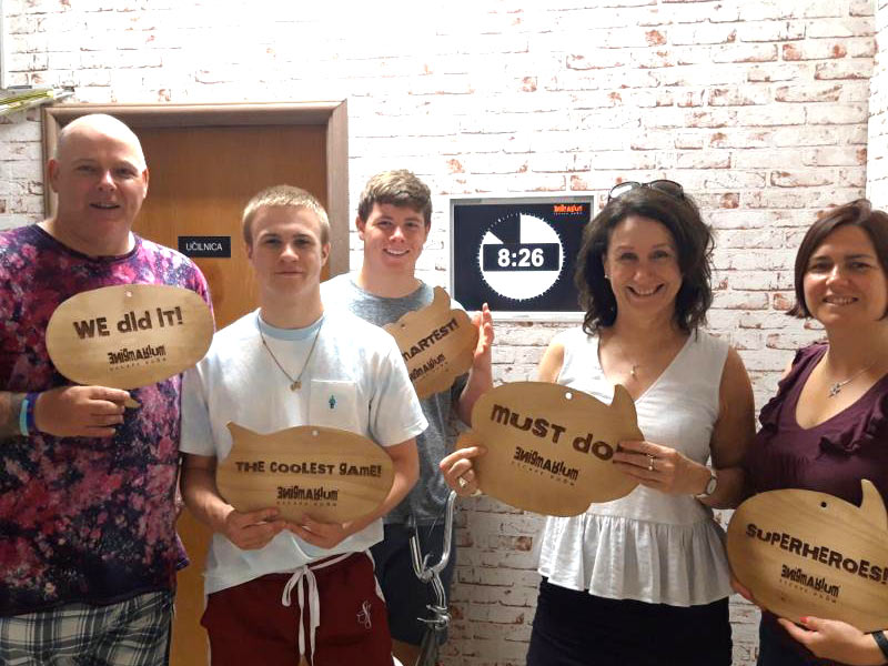family escape rooms for active holidays