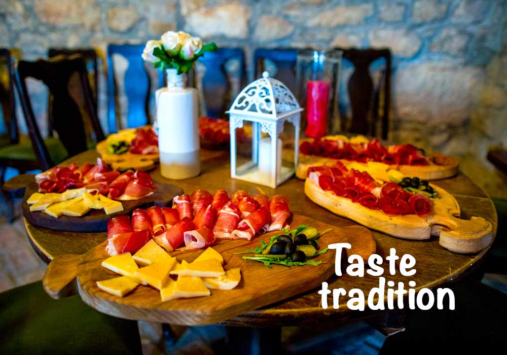 Try local foods in Croatia and Slovenia as part of a family adventure holiday