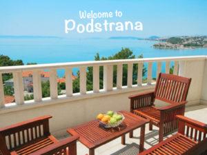 Podstrana holidays for active families