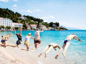 Podstrana holidays for active teenagers