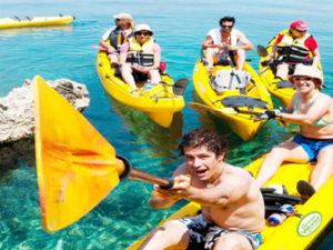 Brac island active holiday for families