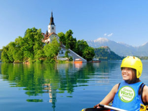 water sports holiday in Lake Bled