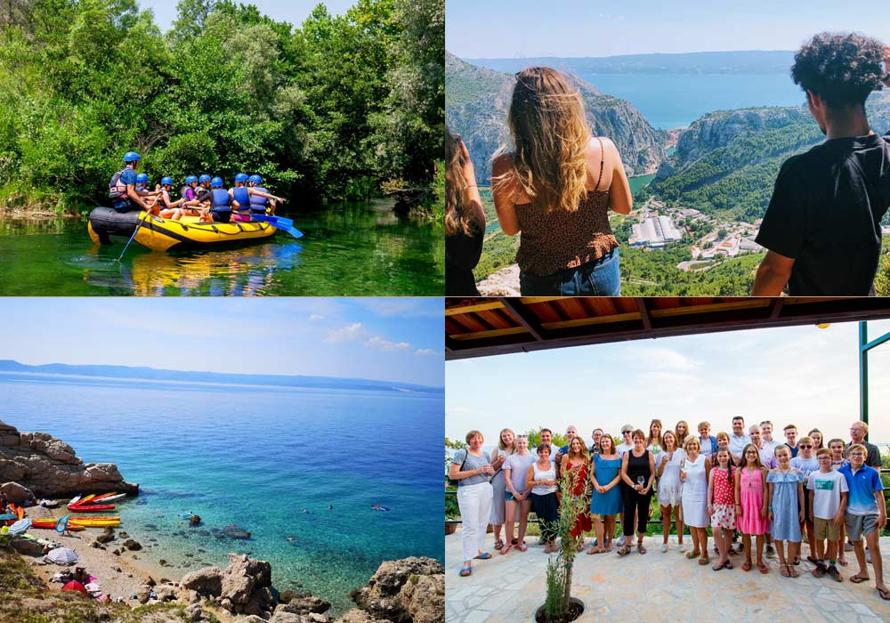 multi activity holidays to book for Croatia