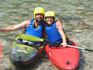 river kayaking tours in Slovenia