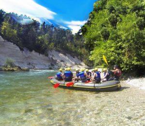 White water rafting tours