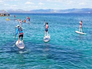 SUP boarding in Croatita