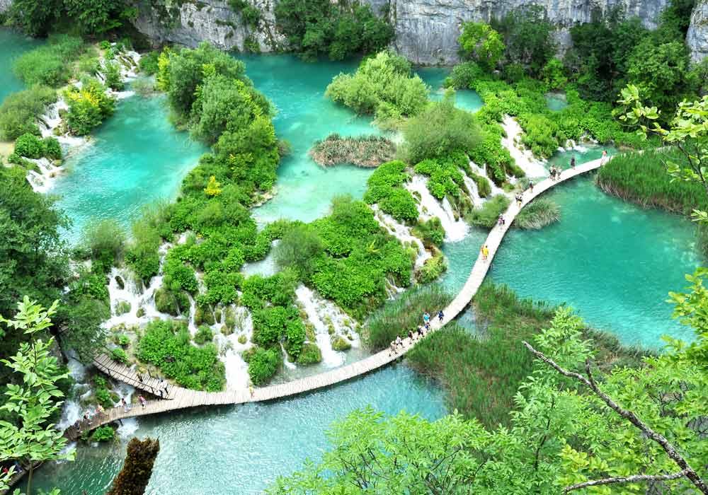 plitvice lakes Croatian national park